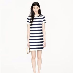 J Crew Rugby Stripe Dress XS